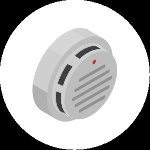 ガス漏れ警報器・火災警報器取付・販売